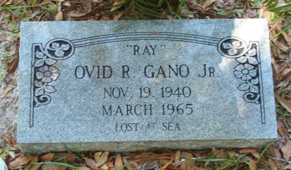 Ovid R. Gano Gravestone Photo