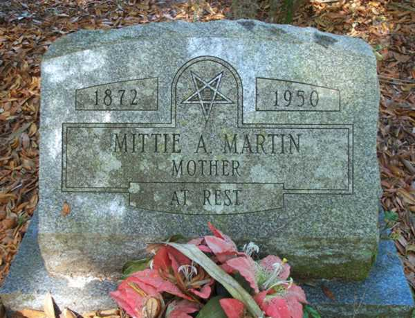 Mittie A. Martin Gravestone Photo