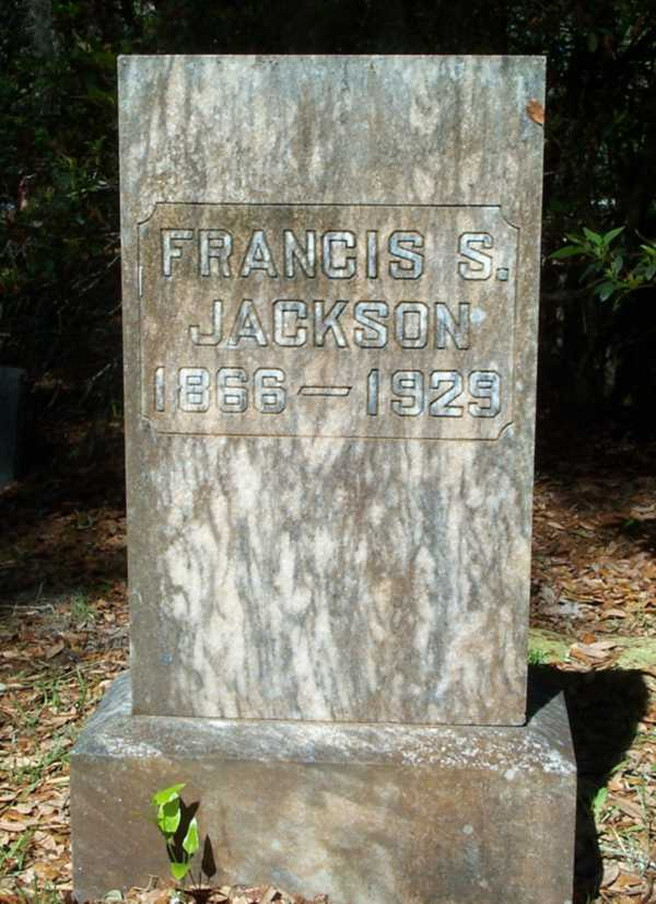 Francis S. Jackson Gravestone Photo