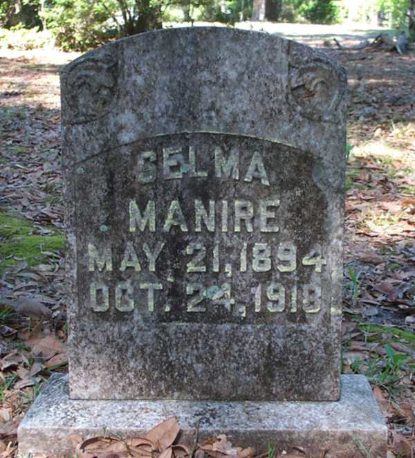 Selma Manire Gravestone Photo