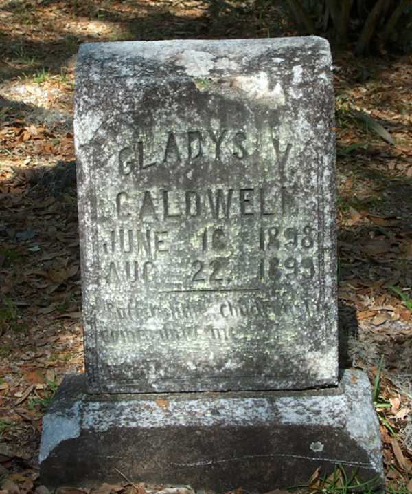 Gladys V. Caldwell Gravestone Photo