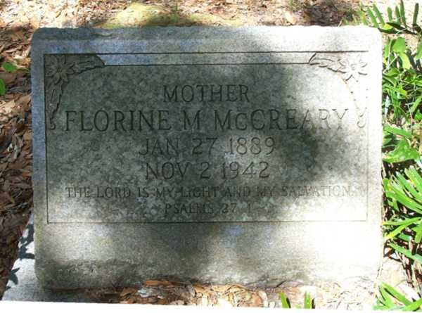 Florine M. McCreary Gravestone Photo