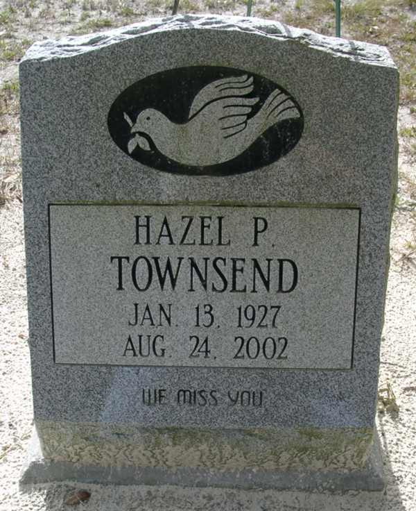 Hazel P. Townsend Gravestone Photo