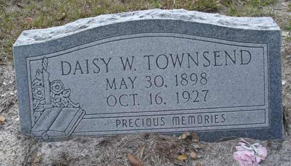 Daisy W. Townsend Gravestone Photo