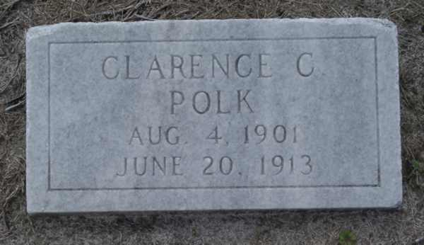 Clarence C. Polk Gravestone Photo
