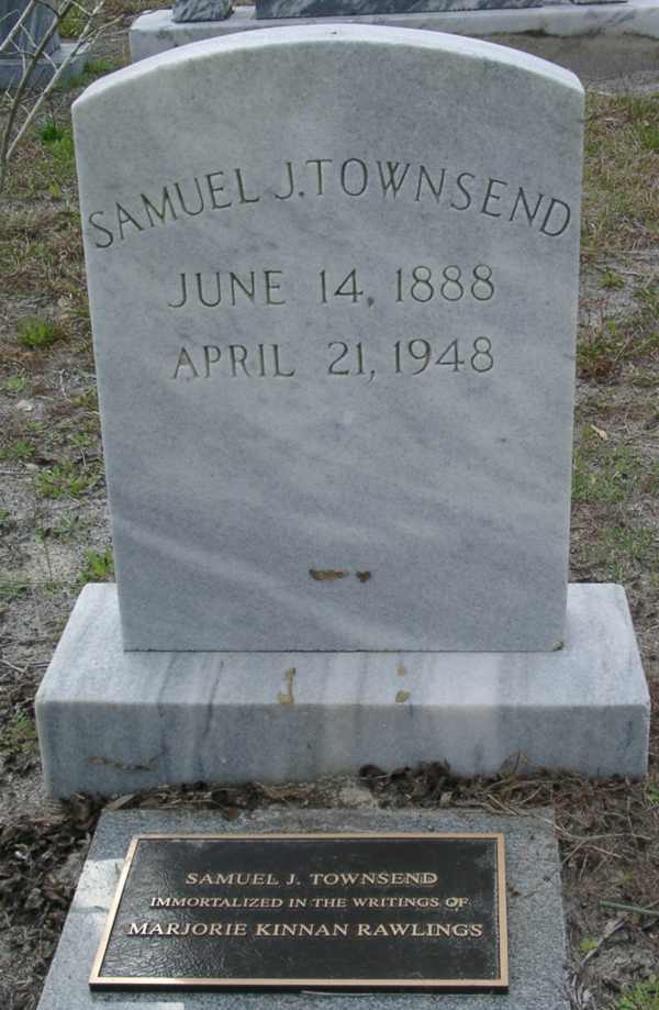 Samuel J. Townsend Gravestone Photo