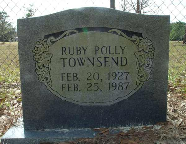 Ruby Polly Townsend Gravestone Photo