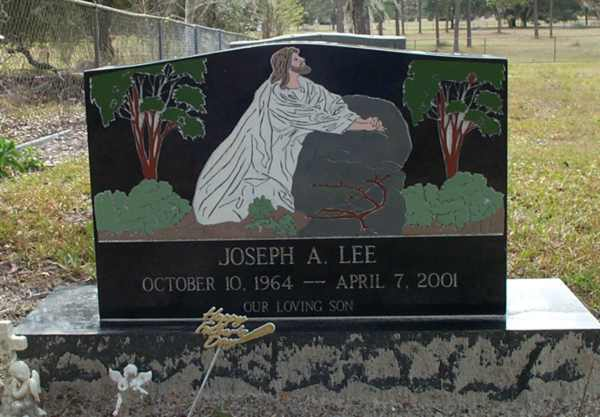 Joseph A. Lee Gravestone Photo