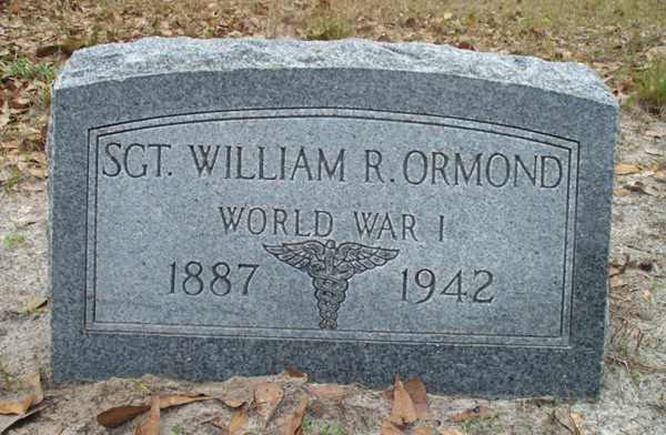 William R. (SGT.) Ormond Gravestone Photo