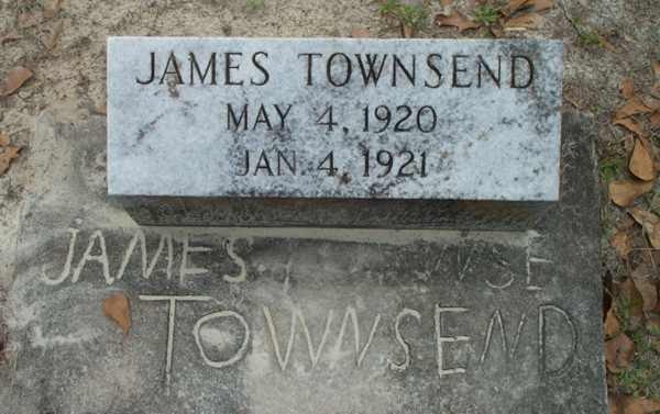 James Townsend Gravestone Photo