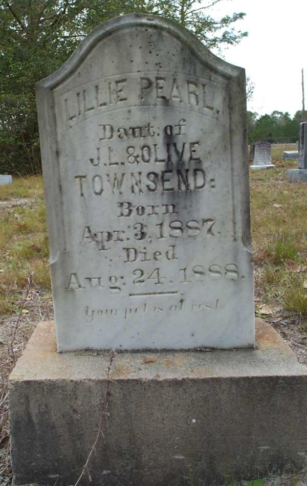 Lillie Pearl Townsend Gravestone Photo