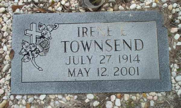 Irene E. Townsend Gravestone Photo