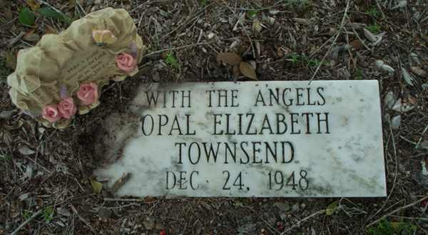 Opal Elizabeth Townsend Gravestone Photo