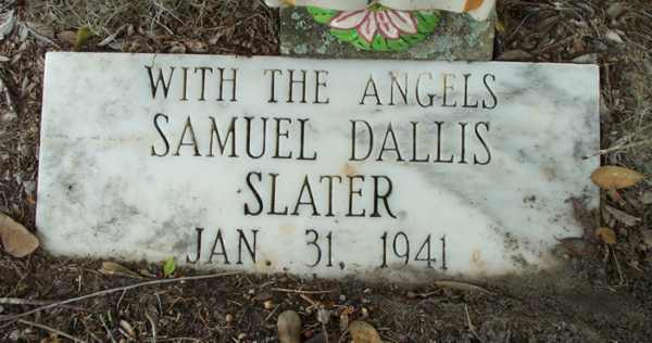 Samuel Dallis Slater Gravestone Photo