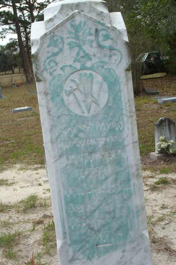 Noah Townsend Gravestone Photo