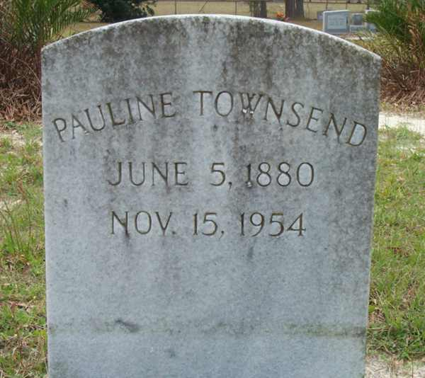 Pauline Townsend Gravestone Photo