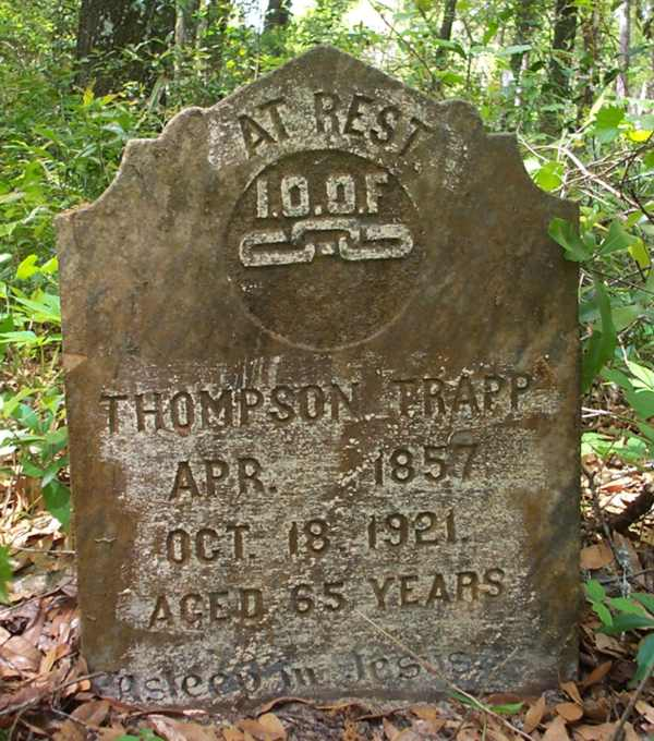 Thompson Trapp Gravestone Photo