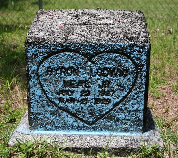 Byron Lodwic Neal Gravestone Photo