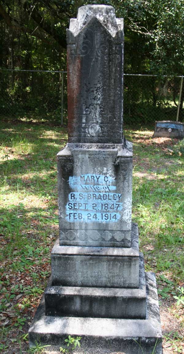 Mary C. Bradley Gravestone Photo
