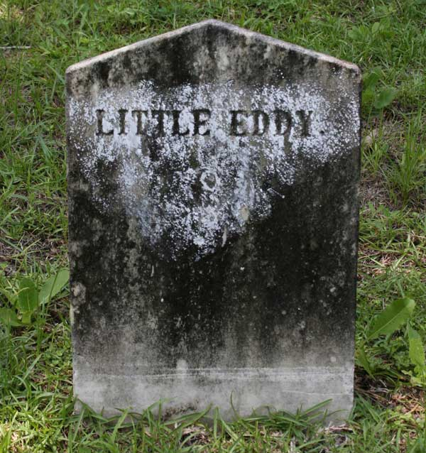 Little Eddy Burts Gravestone Photo