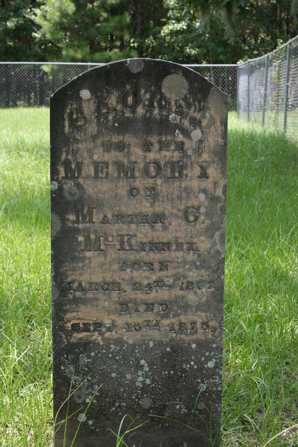 Martha C. McKinney Gravestone Photo