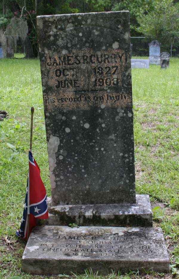 James R. Curry Gravestone Photo
