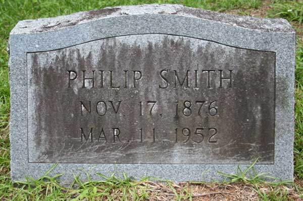 Philip Smith Gravestone Photo