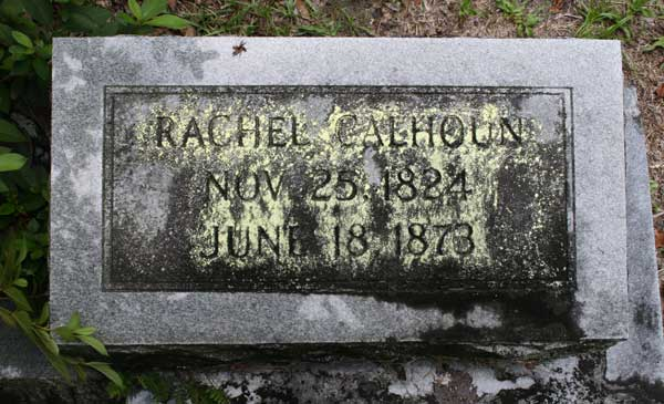 Rachel Calhoun Gravestone Photo