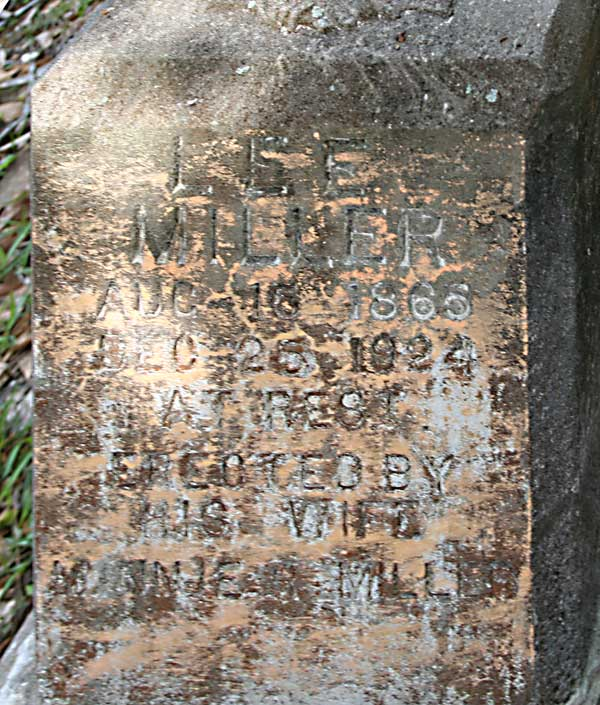 Lee Miller Gravestone Photo