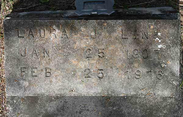 Laura J. Link Gravestone Photo