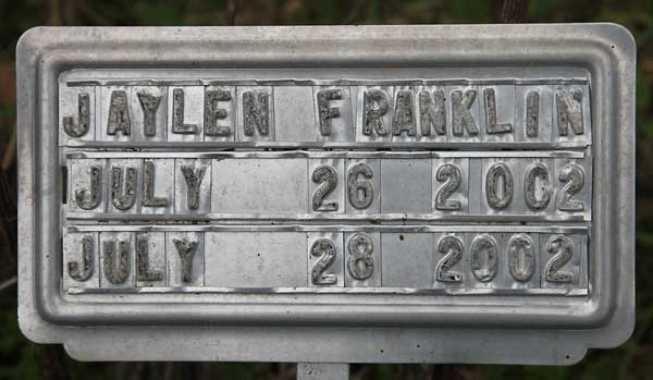 Jaylen Franklin Gravestone Photo