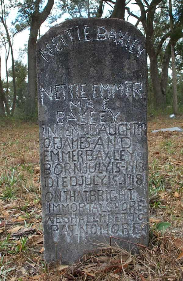 Nettie Emmer Mae Baxley Gravestone Photo