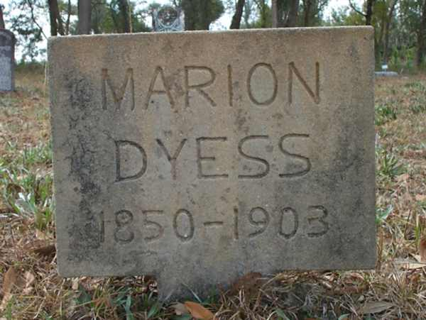 Marion Dyess Gravestone Photo
