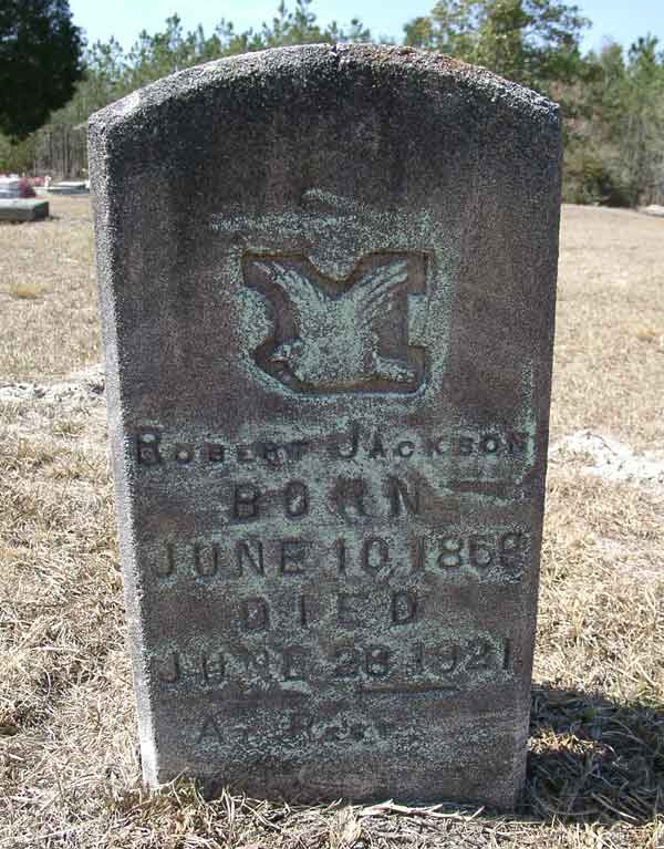 Robert Jackson Gravestone Photo