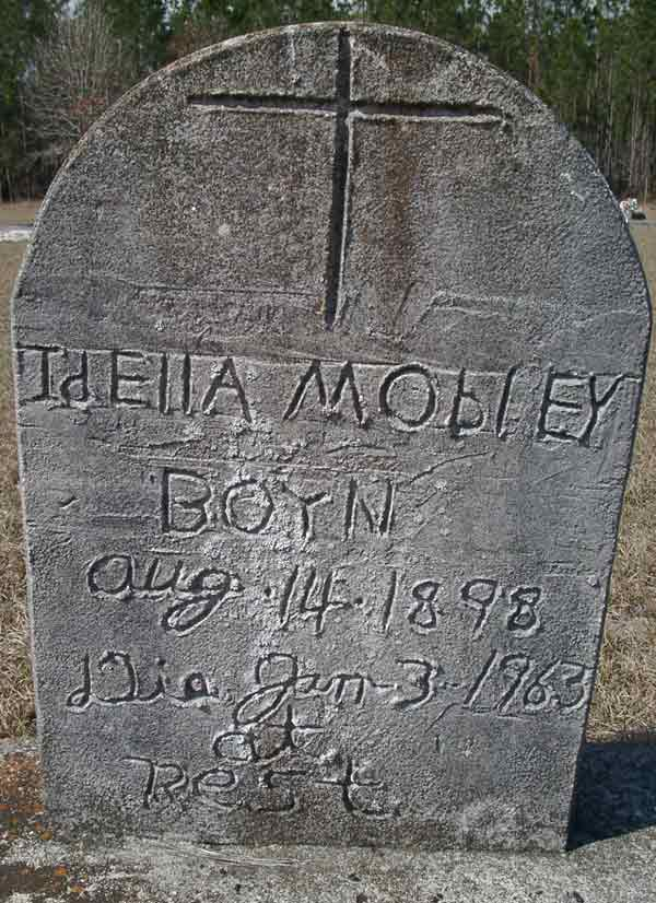 Idella Mobley Gravestone Photo